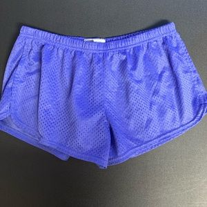 Soffe mesh workout shorts